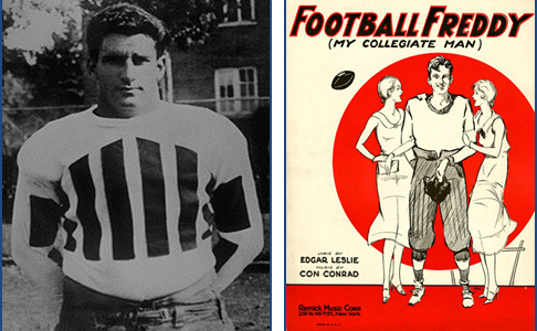 Football Freddy-The Matinee Idol Was Hardly a Bum by Dave Grob