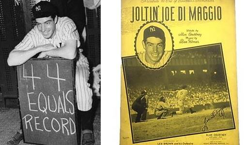 Joltin Joe DiMaggio… We Want You On Our Side by Dave Grob