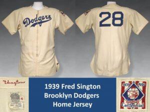 Sington Dodgers Jersey